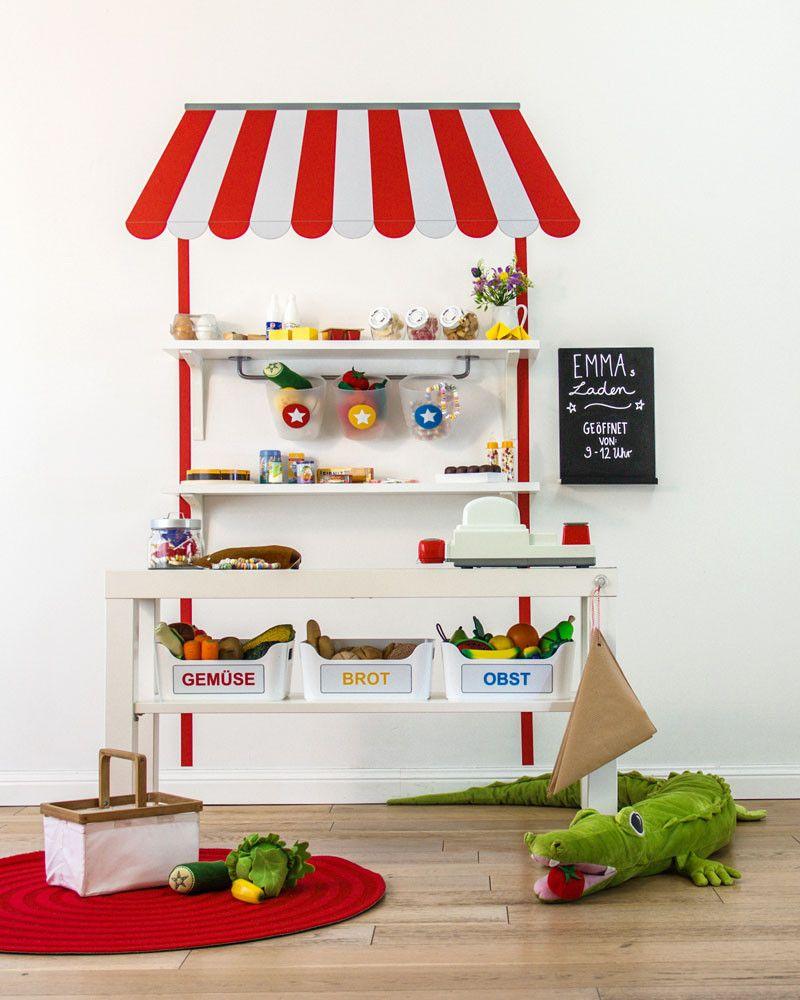ikea kaufladen / kaufmannsladen selber bauen - limmaland - kleben, Schlafzimmer design