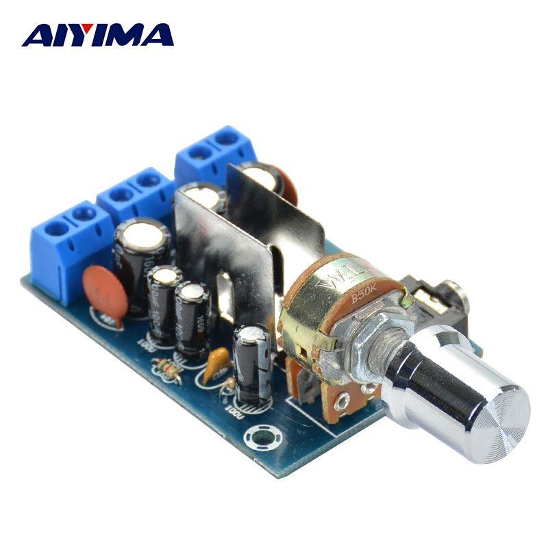 TEA2025B 2 0 Stereo Tube Amplifier Dual Channel Mini Audio