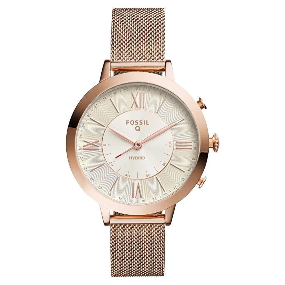 Fossil Damen Analog Quarz Smart Watch Armbanduhr Mit Edelstahl Armband Ftw5018 169 10 5 0 Von 5 Sternen Damen Uhren 2019 Damenuhren Smartwatch Und Fossil