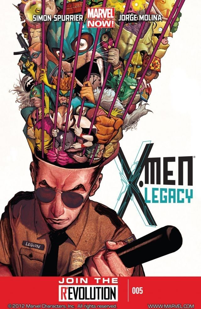 X Men Legacy 2012 2014 5 Comics By Comixology Legion Comic Marvel Legion X Men