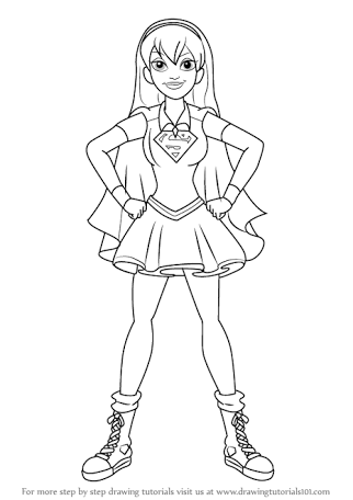 Image result for dc super hero girls coloring pages Colouring in