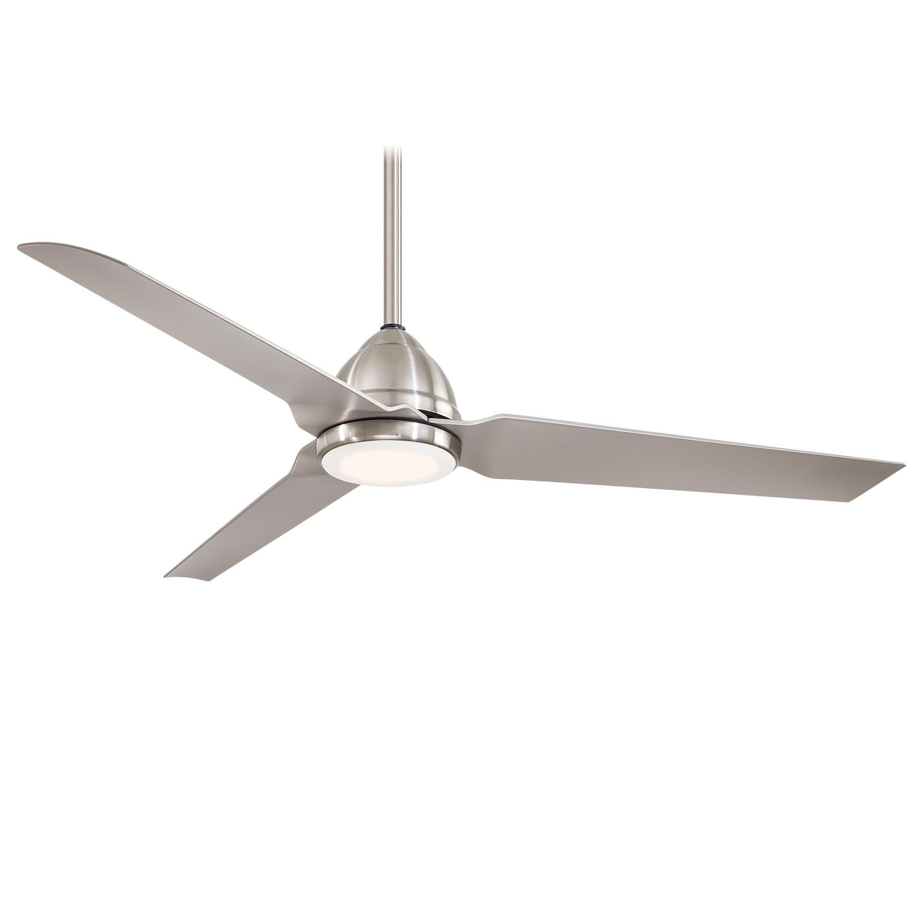 Java Ceiling Fan with Light es in Flat White with matching