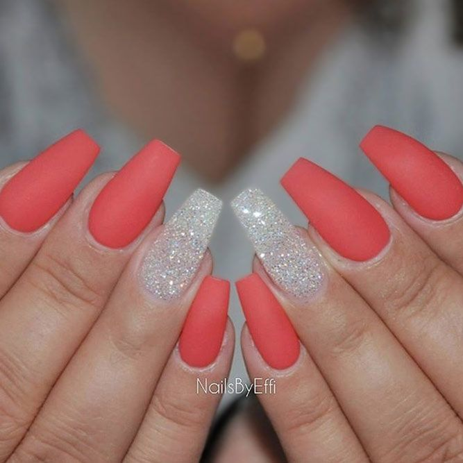 21 Cool Coffin Shape Nails Designs to Copy in 2018 | Must ...