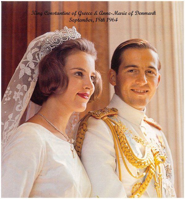 Real Greek Weddings: Revealed In Time: Royal Families: Greek Royal Wedding