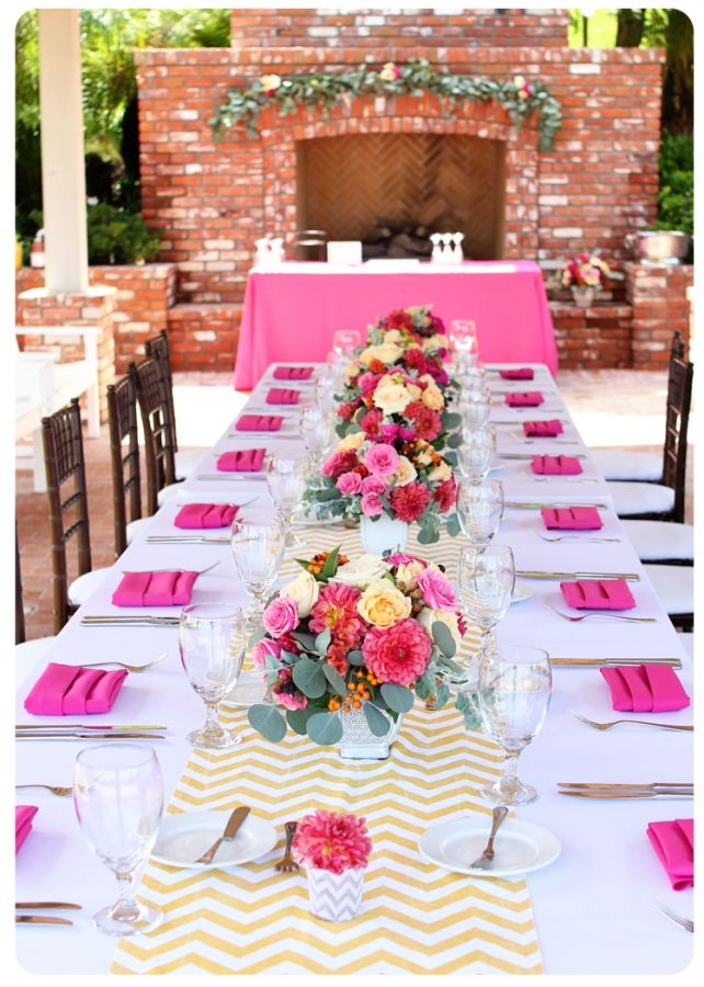 fbfcf12e1ca A lovely floral and decor inspiration for a luxury bridal shower ...