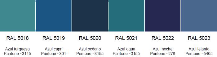 Ral Colors 5018 5023 Ral Colours Pantone Colours