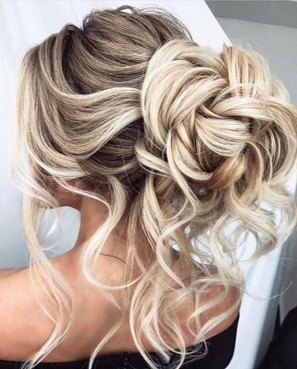 Top 10 Messy Updo Hairstyles #messyupdos