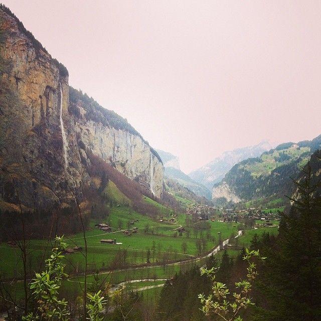 #lauterbrunnen #valley #april #spring in #swiss #alps #igerssuisse #Padgram