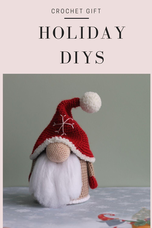 Gnome de Noël Amigurumi crochet (Maman) / Christmas mother Gnome ... | 1500x1000