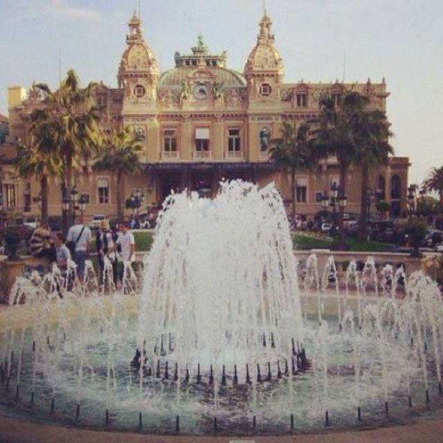 Monte Carlo casino!