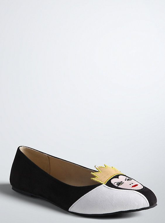 Disney Maleficent Flats Wide Width Disney Evil Queen