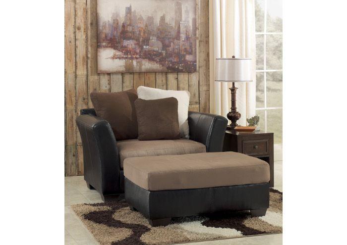 Hawks Prairie Home Furnishings | Lacey, WA Masoli Mocha Chair And A Half