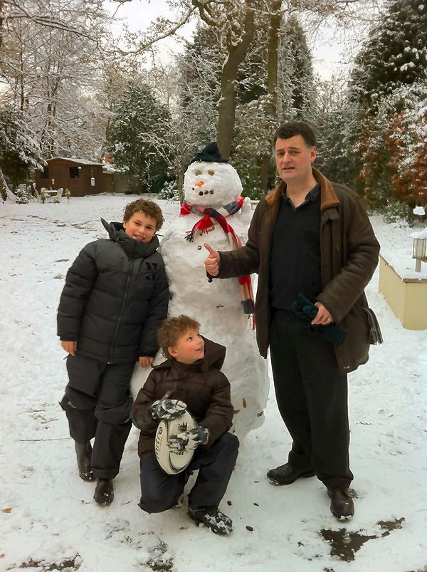 moffat and his children