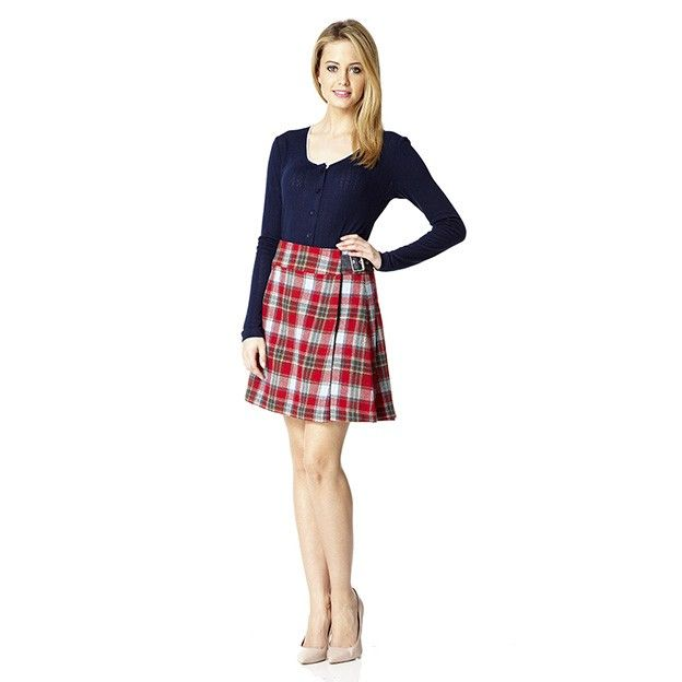 Robena Tweed Skirt - Dresses & Skirts from Ness Clothing