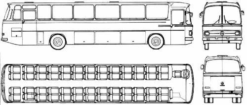 Mercedes O 302 Otobus Arabalar Kamyon