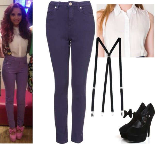 """""""Jade Thirlwall Style 6"""" by nicolesamile ❤ liked on Polyvore"""