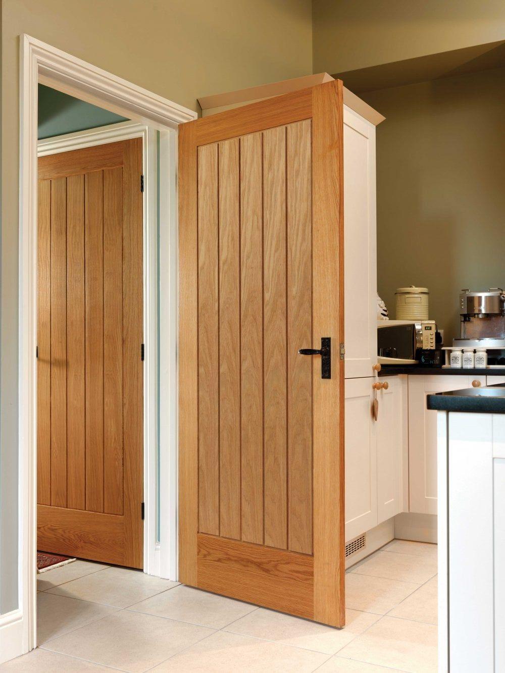 JB Kind Thames Original Oak Internal Door Fully Finished (VO…