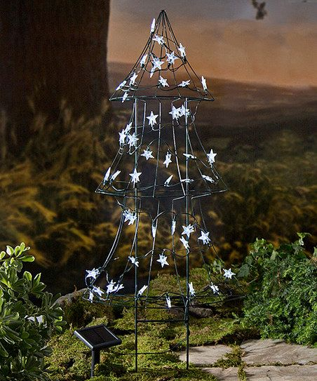 Wind And Weather Solar Lit Christmas Tree Outdoor Décor Zulily