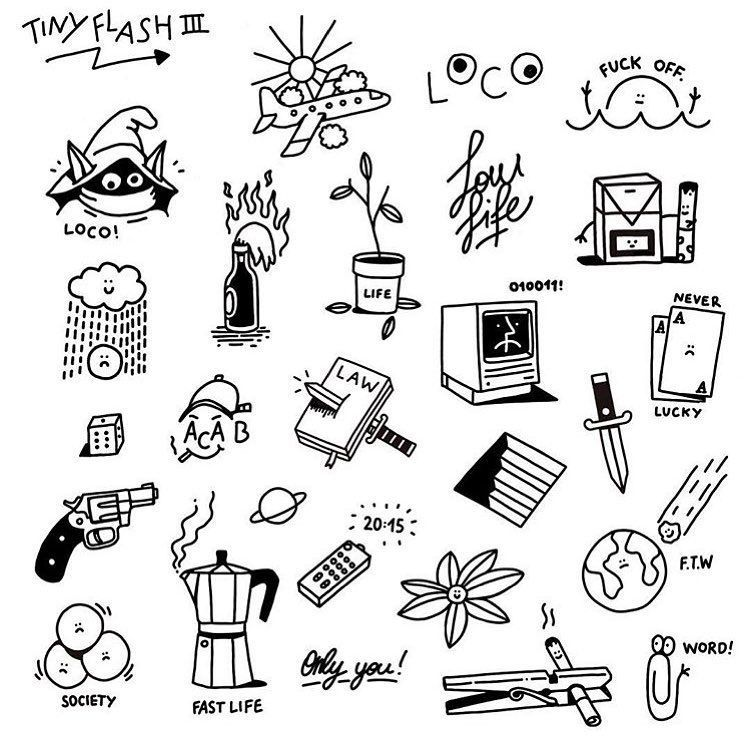 """Photo of Tatto Sketches on Instagram: """"By @esco_zcc #sketches #sketchtattoo #sketch # э …"""