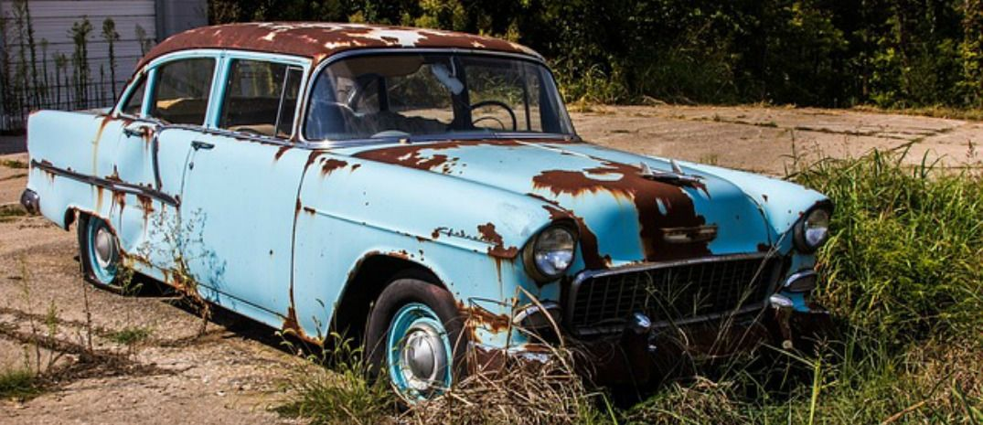 rusted old car | belair | Pinterest | Rust, Abandoned and Abandoned ...