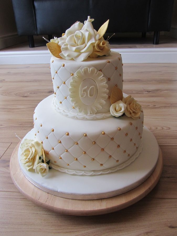 Cakes For 50th Birthday For Lady Ladies 50th Ladies 50th Birthday Cake 50th Birthday Cake For Women Golden Birthday Cakes 50th Birthday Cake