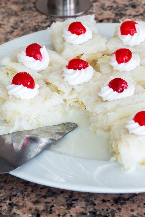 Hawaiian Wedding Cake Recipe with Coconut Pineapple Made with
