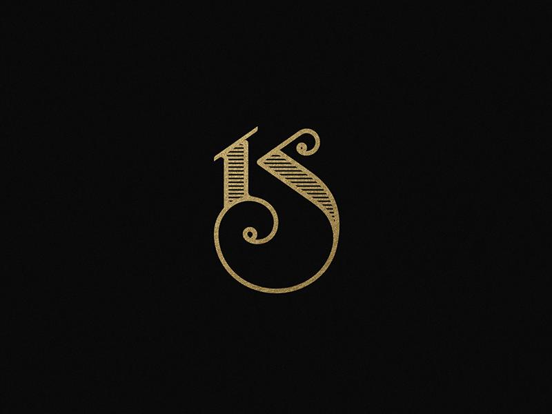 Ks Monogram Typographic Logo Design Monogram Logo Design S Logo Design