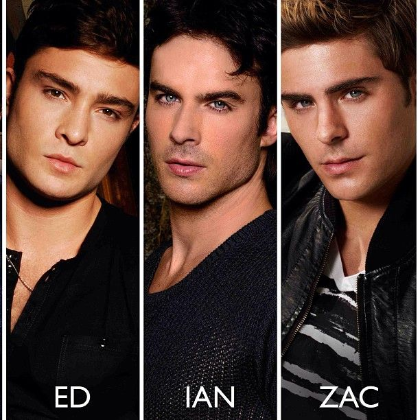 Zac efron and ian somerhalder