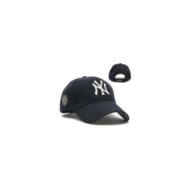 New York Yankees Hat - NYPD Navy Franchise (Sports) found on Polyvore  featuring polyvore d07451ebf4a