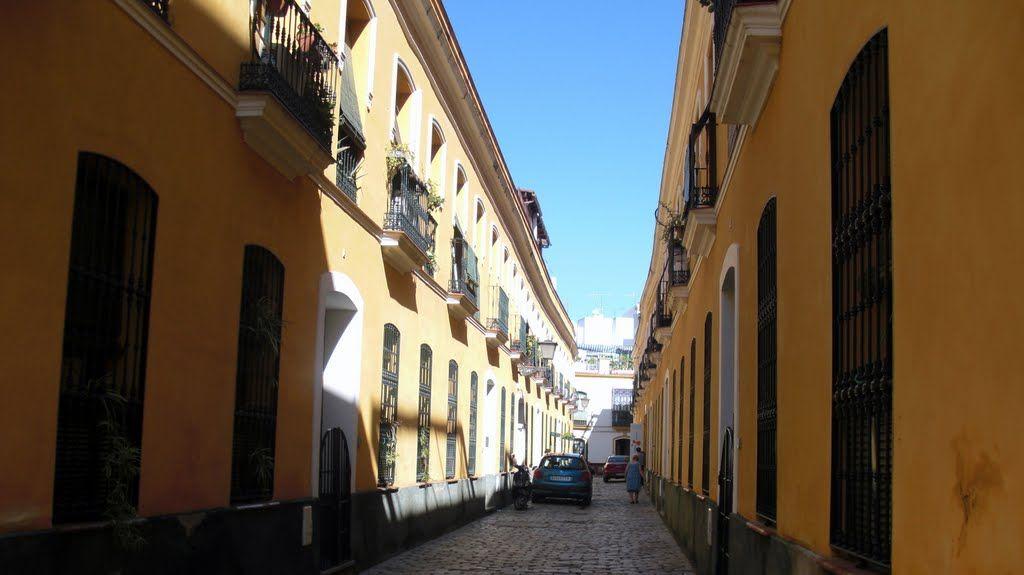 Pasaje González de Quijano  near Alameda de Hércules Sevilla