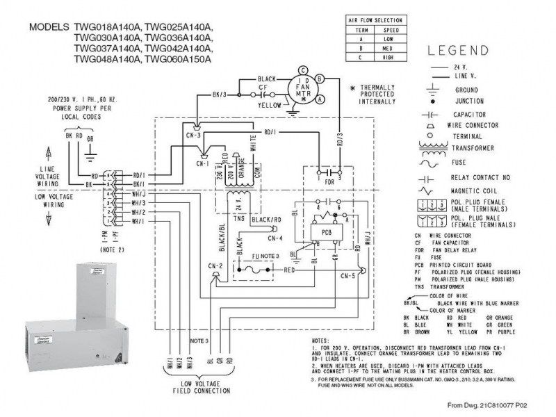 Trane Heat Pump Wiring And Air Handler Diagram In 2020 Trane Heat Pump Trane Thermostat Wiring