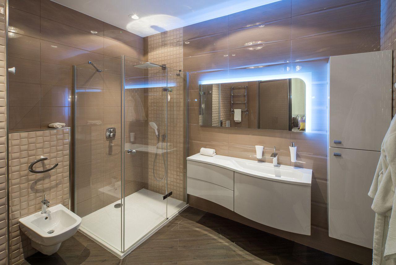 Edles Design Fur Das Badezimmer Mit Der Exclusive Dusche Aus Glas