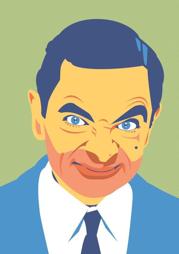 Mr Bean Artistas Rosto