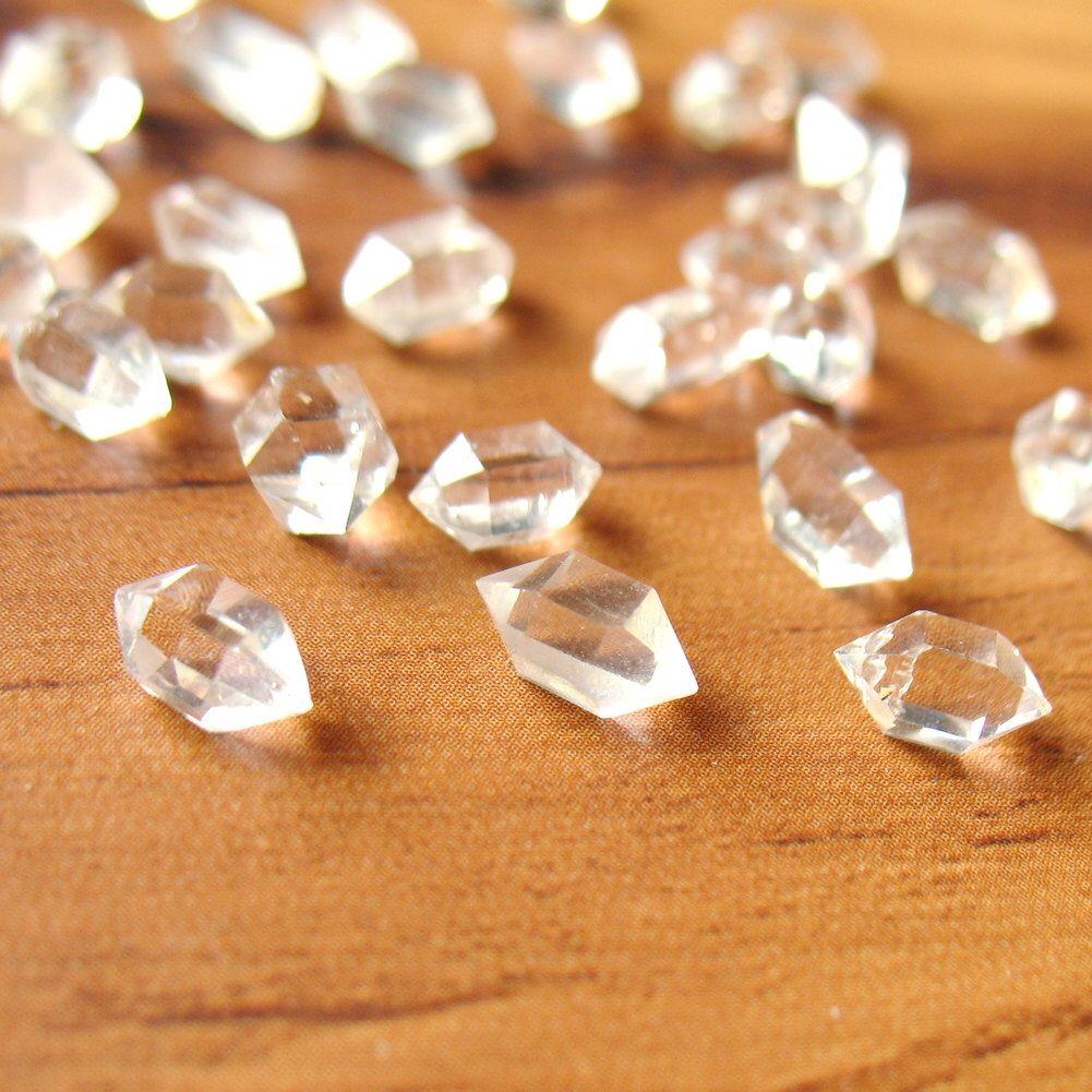 Natural Herkimer Diamond Quartz Crystal 5mm to 10mm Water