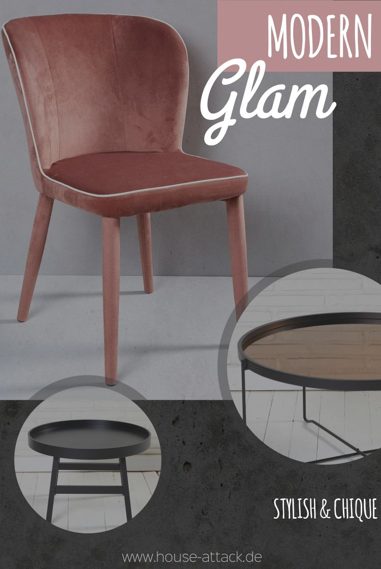 Und Glam Chic Style Im Stylisch Indoormöbel Modern 5AL4Rj