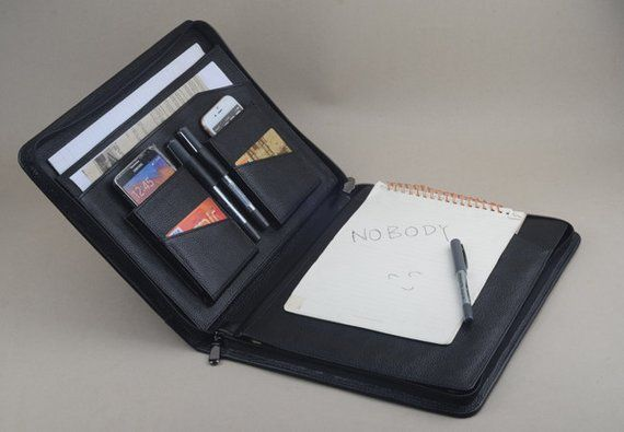 ipad pro leather portfolio