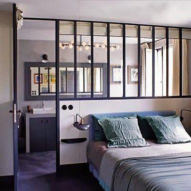 Une suite parentale moderne avec verrière atelier | Pinterest ...