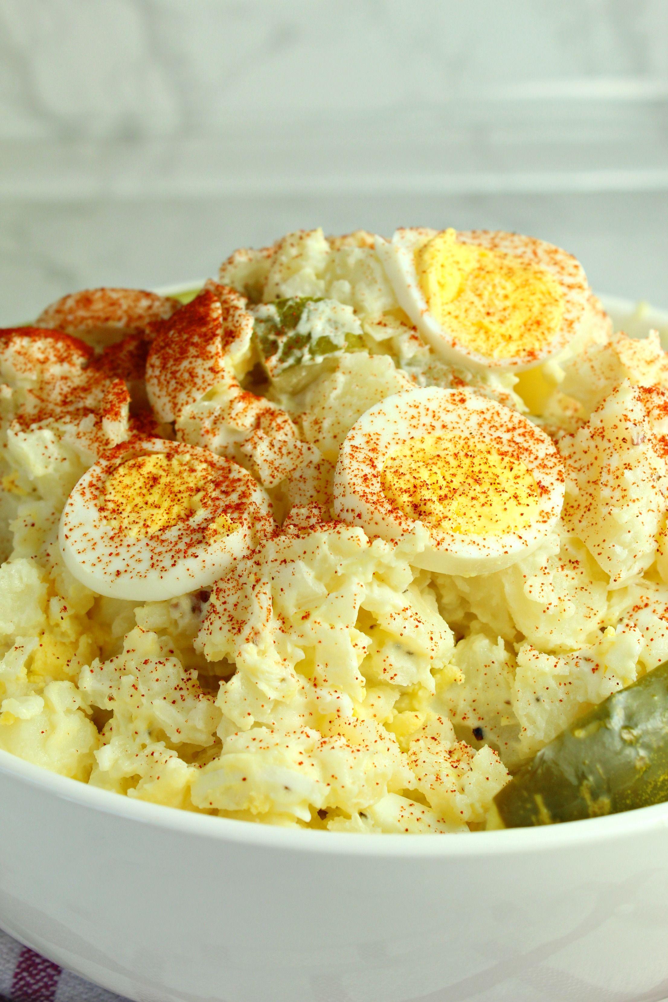 Potato Salad Recipe Egg Dill Pickle