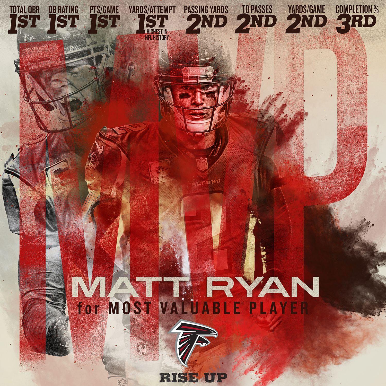 Matt Ryan For Mvp Social Media Concept Rise Up Atlanta Falcons Atlanta Falcons Memes Atlanta Falcons Art