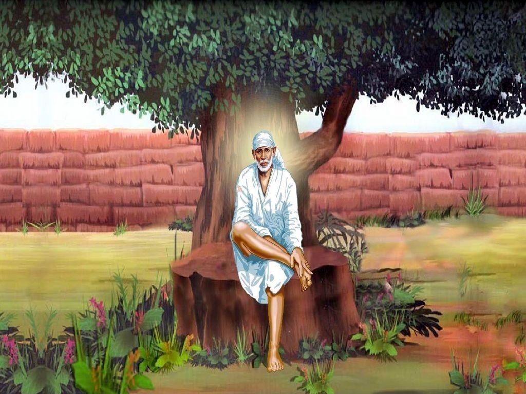 Download Sai Baba HD wallpaper for download