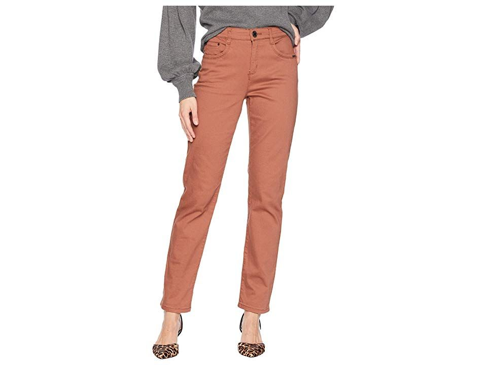 FDJ French Dressing Jeans Petite Sunset Hues Suzanne Straight Leg Cognac Womens Casual Pants Show off your striking style with these FDJ French Dressing Jeans Petite Suns...