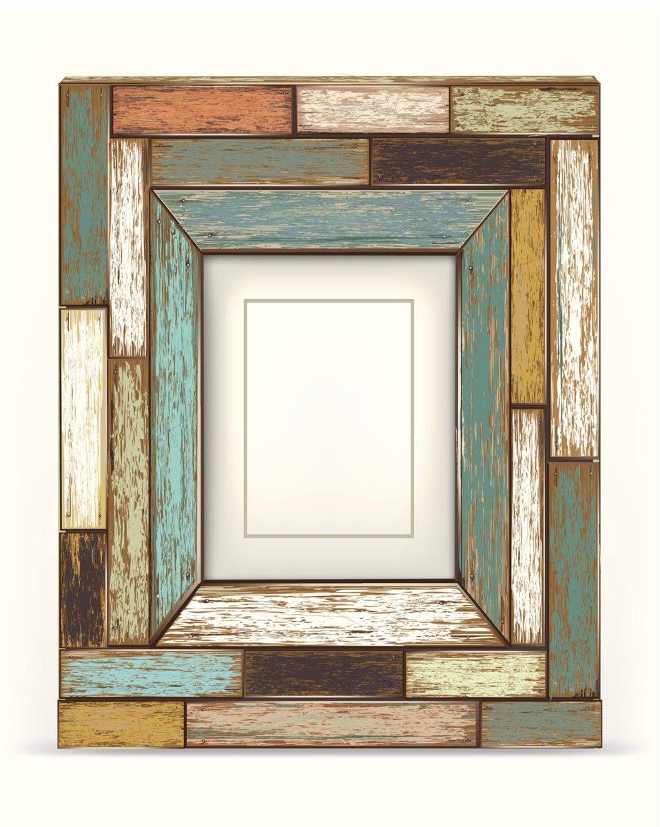 Pretty frame | marcos | Pinterest | Marcos, Espejo y Marcos de madera