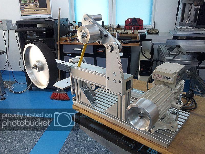 New Machine Build Kmg Clone Belt Grinder Pics Belt
