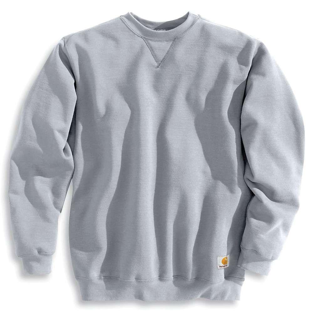 Carhartt Men S Midweight Crewneck Sweatshirt Xl Tall Heather Grey Mens Crewneck Sweatshirt Carhartt Sweatshirts Crewneck Outfit [ 1000 x 1000 Pixel ]