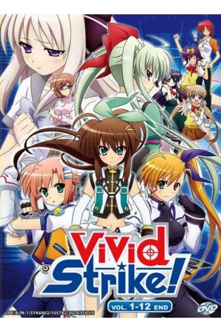 Magical Girl Lyrical Nanoha Vivid Strike Vol 1 12end Anime Dvd Anime Anime Furry Anime Shows