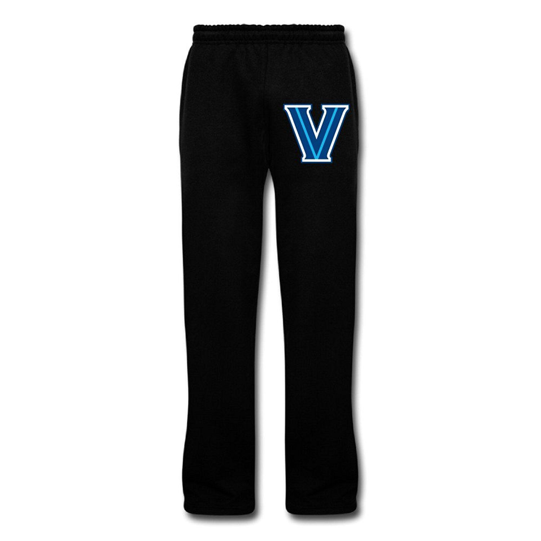 Cozyou Villanova Uni Logo Men Sport Gym Pants Black *** Additional details at the pin image, click it  : Gift for Guys