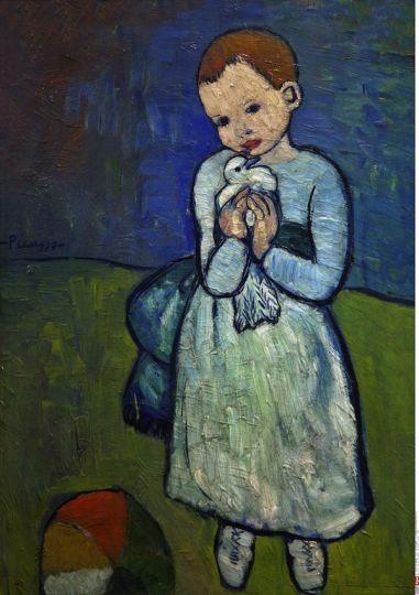 Favori Picasso période bleue | art | Pinterest | Picasso période bleue  KD62
