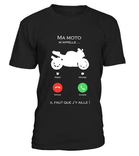 T-SHIRT HOMME LA MOTO M/'APPELLE...