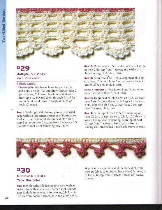 50 bordes crochet para mantas - CROCHET - Picasa Web Albums ...