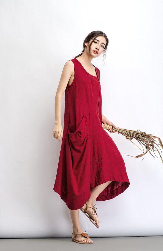 32d3a76151 Linen dress